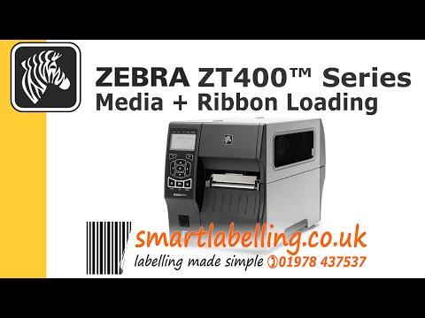 zebra-zt410,-zt420-media-and-ribbon-loading