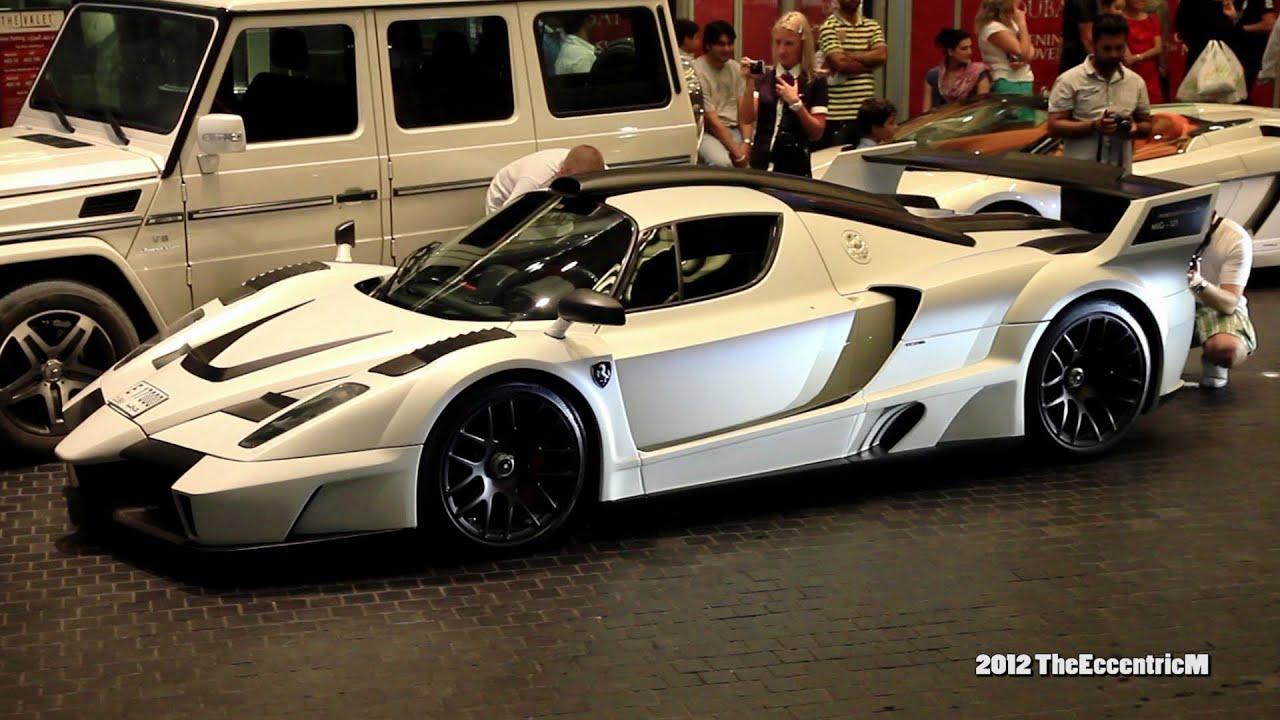 Gemballa Mig U1 At The Dubai Mall Based On The Ferrari