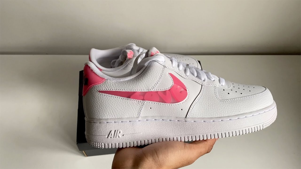 Nike Air Force 1 Love For All Unboxing
