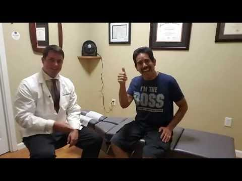New Patient Symptoms Almost Completely Resolved In One Visit To San Jose Chiropractor