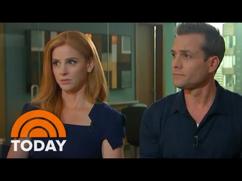 'Suits' Stars Sarah Rafferty And Gabriel Macht Talk New Season, Royal Wedding And More  TODAY