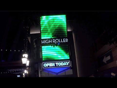 Crones Vlog Las Vegas high roller happy hour full ride
