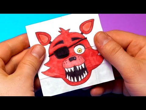 CREATE YOUR FNAF ANIMATRONICS  - 8 COOL Five Nights at Freddy's DIY IDEA   CHALLENGE | You cant hide