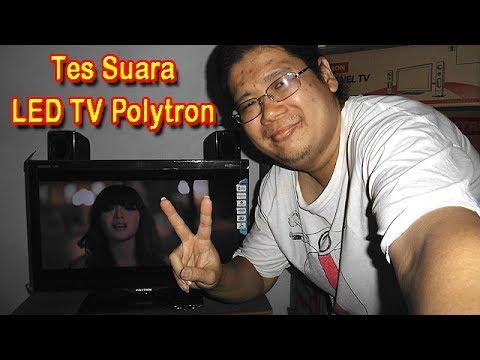 Tes Suara LED TV Polytron