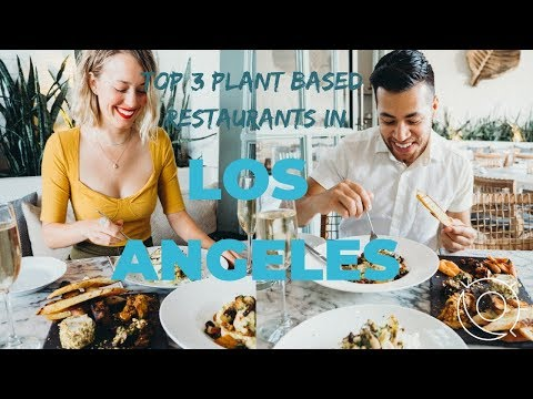 BEST PLANT BASED RESTAURANTS in Los Angeles, California | BY SUN and THE MOON