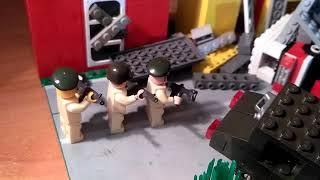 Военный мультфильм лего/!