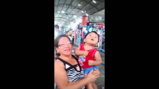 André Fares y tu tía Gladys Rosales Ortega en su visita a Lima