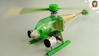 Como fazer um Helicóptero Elétrico com Garrafa PET