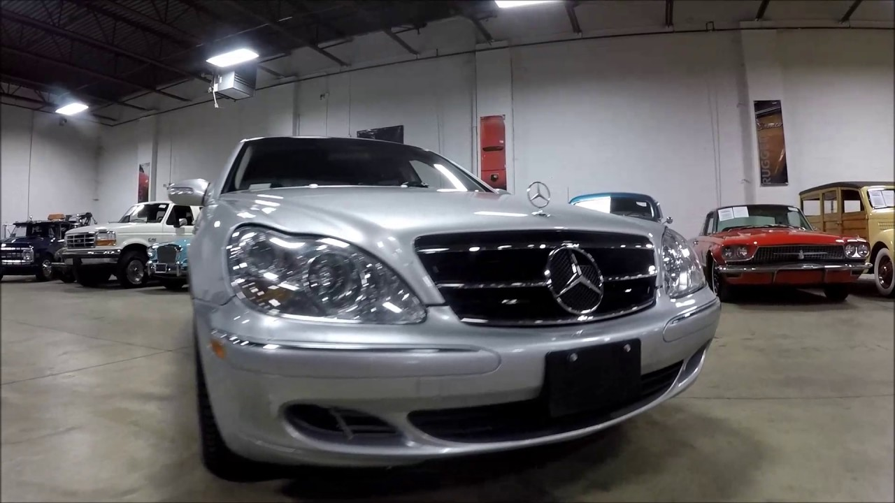 2003 mercedes benz s500 youtube for Mercedes benz s500 2003