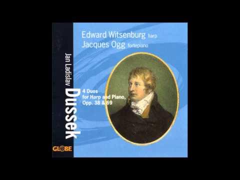Jan Ladislav Dusík (Dussek) Duets for Harp and Fortepiano Op38 & 69