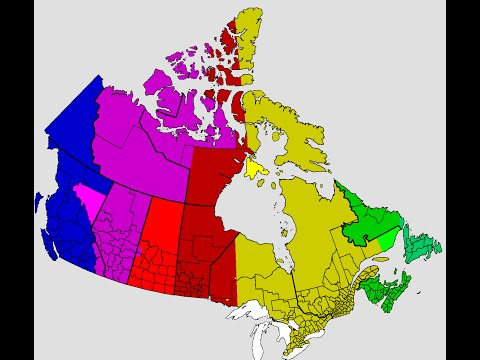 Canada Time Zones