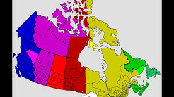 Canada Time Zones