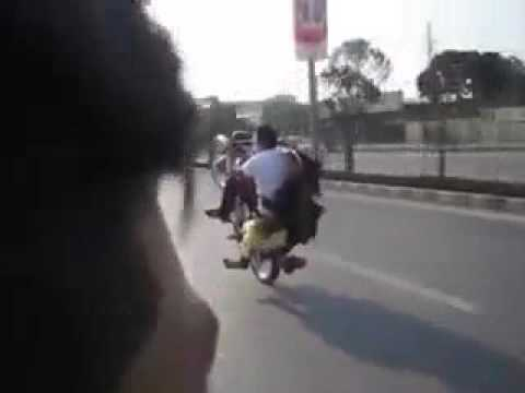 Bike One Wheeling Stunts Youtube