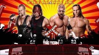 WWE 2K15 (PS4) Kane e Undertaker VS Triple H e Shawn Michaels (PT-BR)