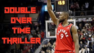 Crazy DOUBLE Over Time THRILLER - Kawhi and Siakam on FIRE - Raptors vs Wizards Reaction