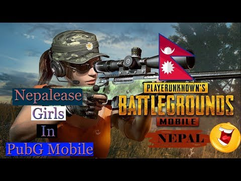Neplease Girls In PubG Mobile - Small GamePlay | Bishal KC