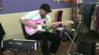 Electronic Guitar/Moog Improv:  C. Goff III