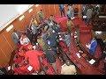 Chaos as Kiambu MCAs exchange blows in budget stalemate | Kenya news today