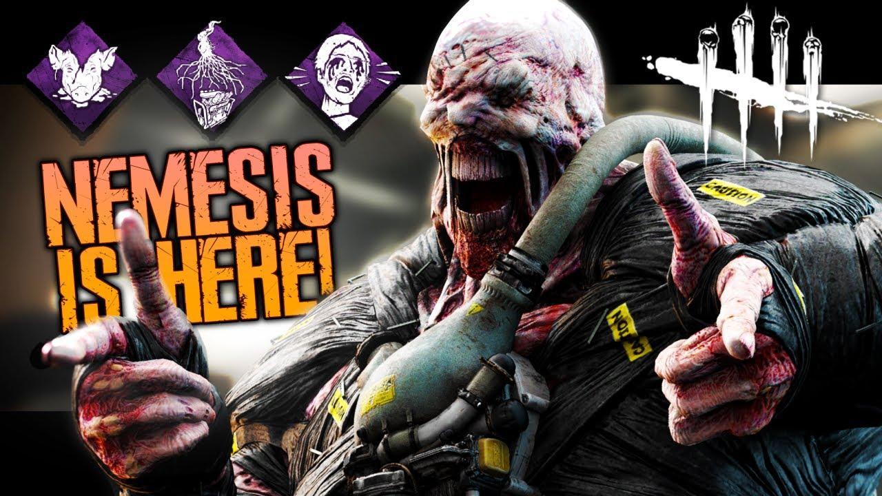 NEW Resident Evil DBD UPDATE! (OP Nemesis & Police Station Map)