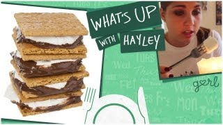 Making Indoor S'mores - What's Up With Hayley