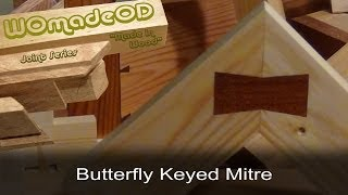 Butterfly Keyed Mitre