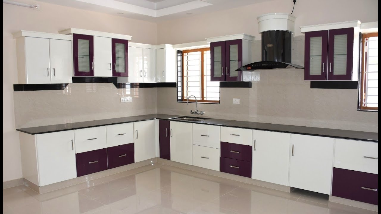 Beautiful kitchen models, Kitchen cupboard designs - YouTube on Model Kitchen Ideas  id=60193