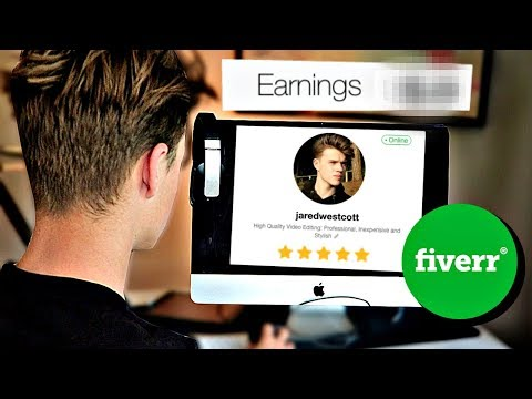 How Much Money I make from Fiverr.. (at 14 y/o)