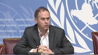 "Comments from US President ""Shocking and shameful"" (if confirmed) - Geneva Press Briefing"