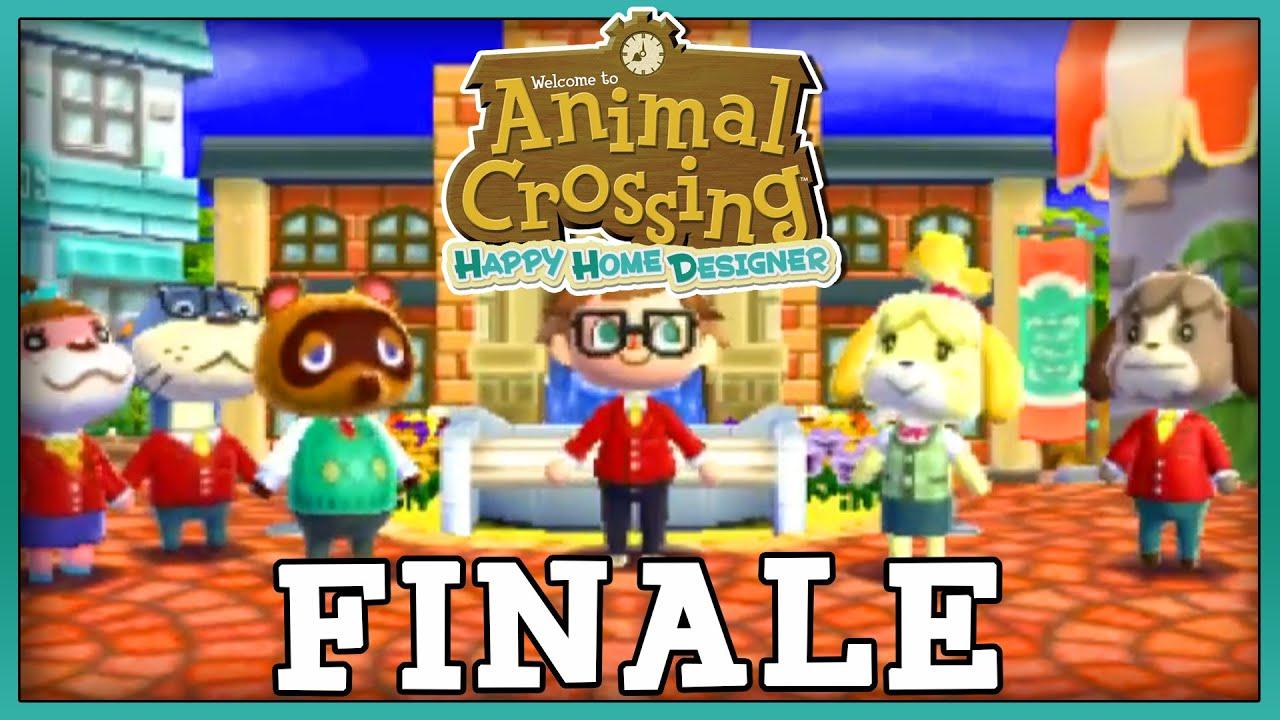 Animal crossing happy home designer finale ending credits - Animal crossing happy home designer cheats ...