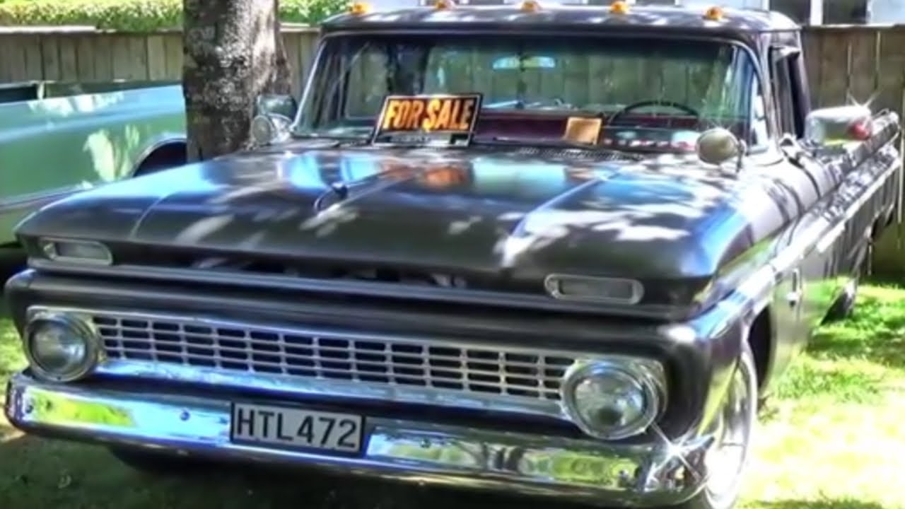 Truck 1963 chevy truck parts : 1963 CHEVROLET C10 - YouTube