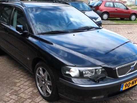 volvo v70 2 4 d5 black sapphire edition bomvol inruil mogelijk youtube. Black Bedroom Furniture Sets. Home Design Ideas