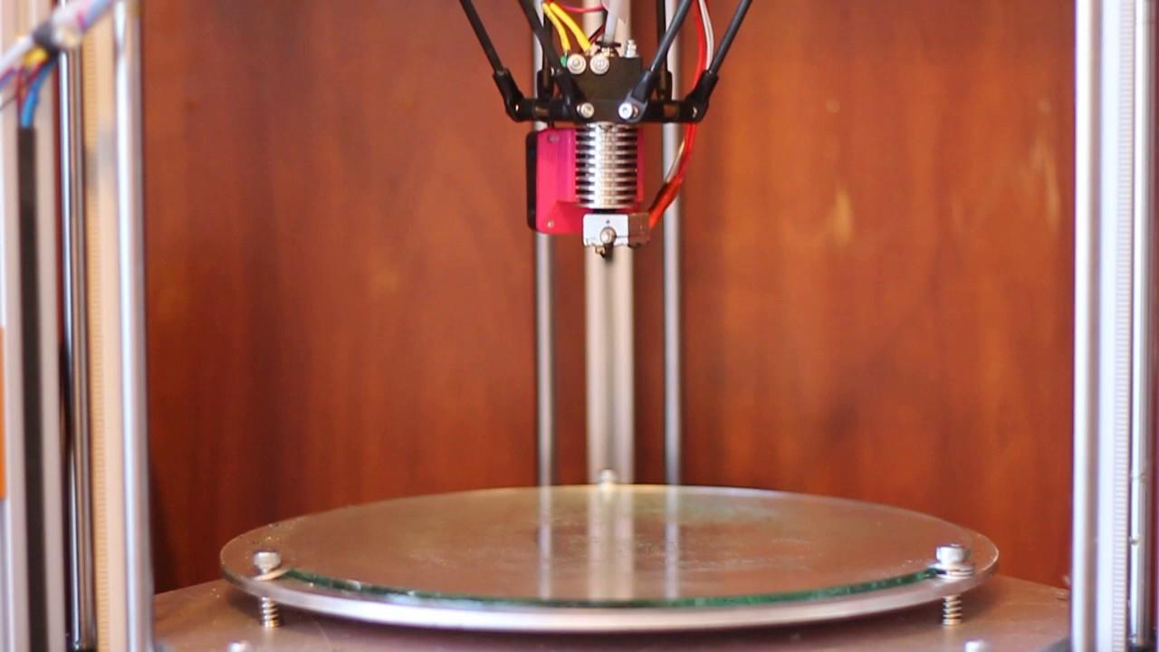 Delta 3D Printer Auto Calibration on Smoothieboard