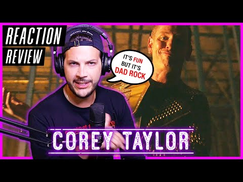 "Corey Taylor ""CMFT Must Be Stopped"" (feat. Tech N9ne & Kid Bookie) - REACTION / REVIEW"