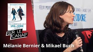 Mélanie Bernier et Mikael Buch sont Sur le canap' !