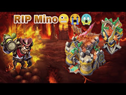 Guildwar   Mino Bomb   End Of Mino Bomb..? 😱😳   Castle Clash