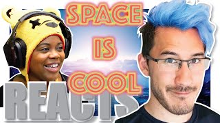 Space Is Cool | Markiplier Reaction | Schmoyoho Remix | AyChristene Reacts