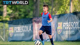 Fc barcelona is casting its talent-spotting net even wider with a new state of the art soccer-school in northern virginia. washington dc area facility is...