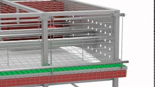 Enrichment Cages. Alternative System for Laying Hens