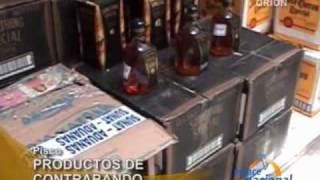 Detienen vehículo con mercadería de contrabando en Pisco