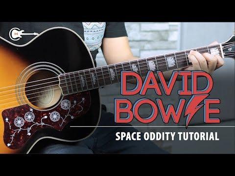 Como tocar SPACE ODDITY de DAVID BOWIE - Tutorial Guitarra + TAB