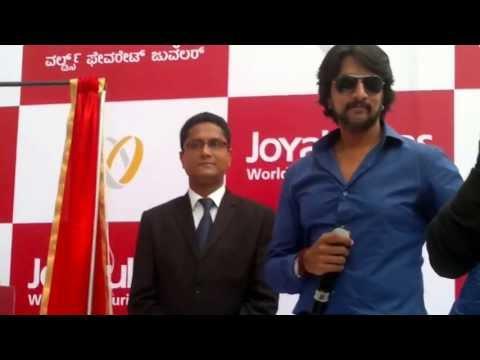 Kiccha Sudeep Event @ Joyalukkas Bangalore