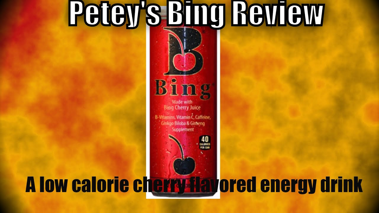 Petey's Bing-Energy Drink Review