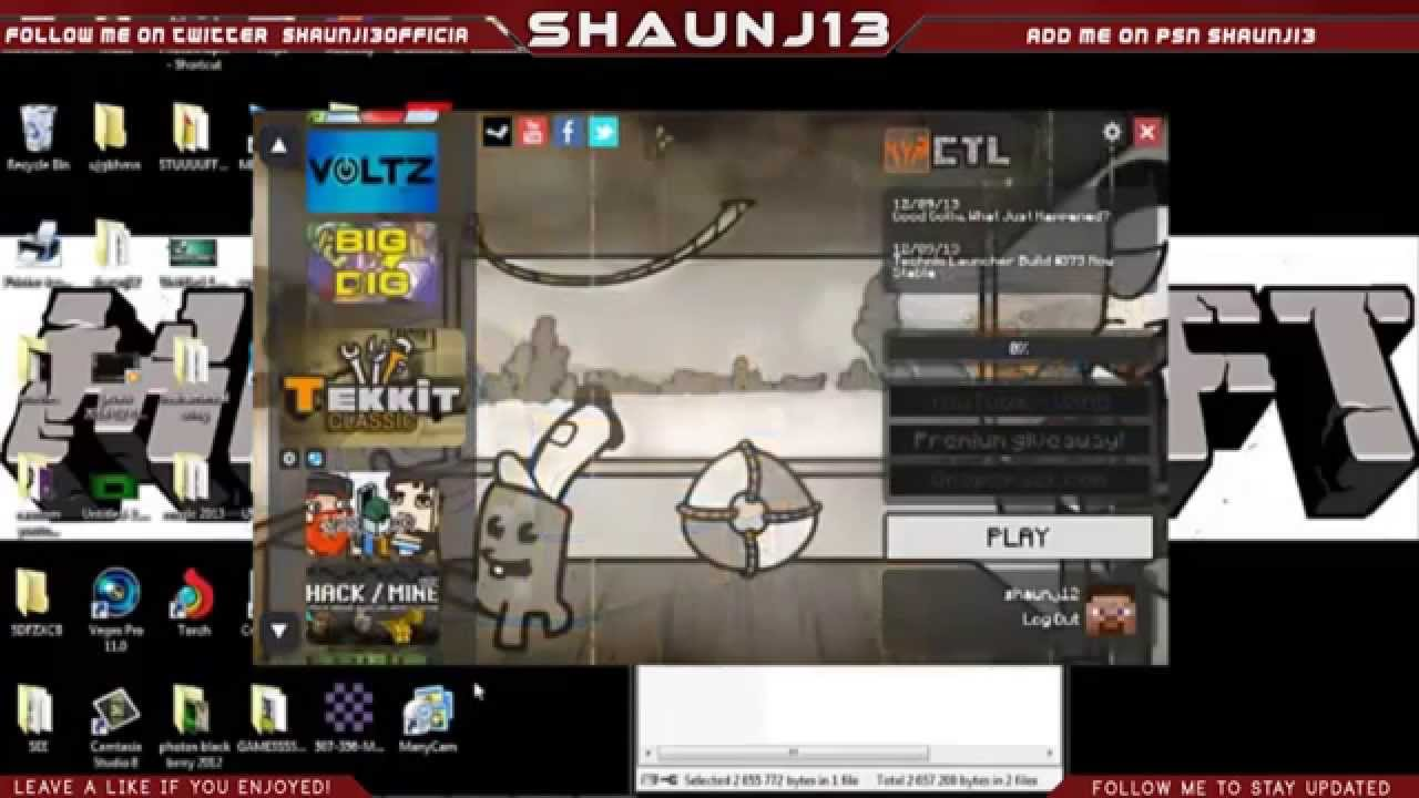 how to download and install cracked tekkit hexxit and technic launcher 2014
