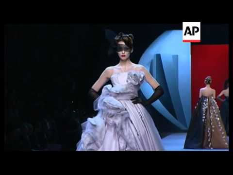 French designer shows haute couture collection
