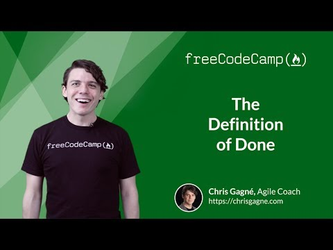 Definition of Done - Agile Software Development