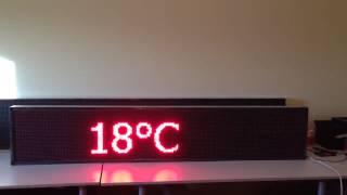 Бегущая строка красная, уличная 36см *196см(Производство бегущих строк и видео экранов тел: +7 (981) 981 98 59 http://vipnarujka.ru/stroki/ Россия, Санкт-Петербург Митрофан..., 2014-11-17T15:23:53.000Z)