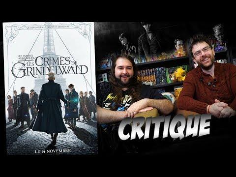 Critique - les Crimes de Grindelwald - Avec ET sans Spoil (spoilers à partir de 11:54)