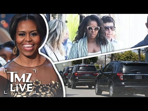 Michelle Obama Slays At Hollywood Power Lunch | TMZ Live