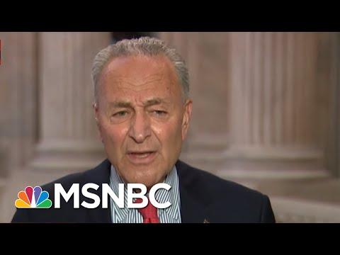 'Trump Has Put His Head In The Sand': Schumer Rips U.S. Coronavirus Response   All In   MSNBC