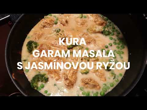 RECEPT: Kura garam masala s jasmínovou ryžou